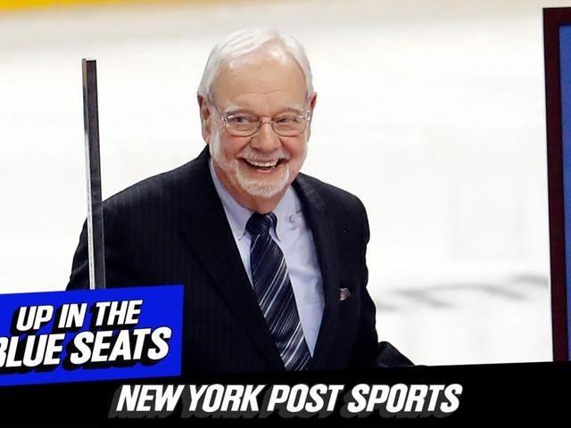 Listen to Episode 27 of 'Up In The Blue Seats': Origin of the Rangers feat. Stan Fischler