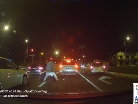 A Little Road Rage and Violence for You: Video
