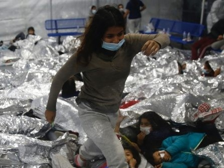 Nearly 50 Migrant Children Test Positive for Coronavirus at Shelter Opened by Biden Administration