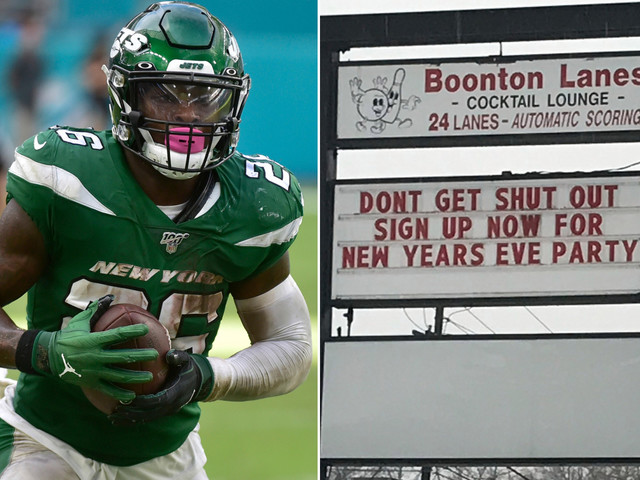 Le'Veon Bell went bowling all night after Jets ruled him out with flu