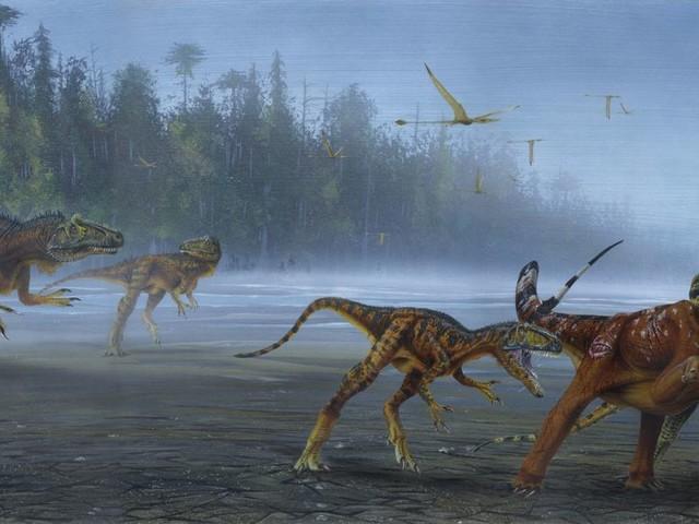 Towering dinosaur with radioactive skull identified in Utah