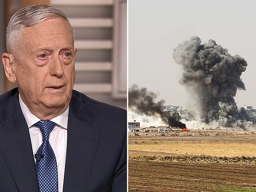 Former Secretary of Defense James Mattis warns that ISIS will resurge with U.S. troops out of Syria