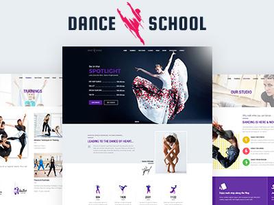 Dance Studio WordPress Theme (Art)