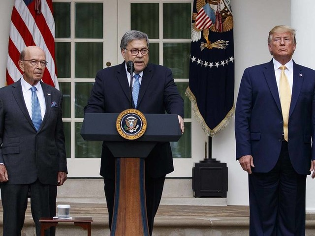 House holds William Barr, Wilbur Ross in criminal contempt