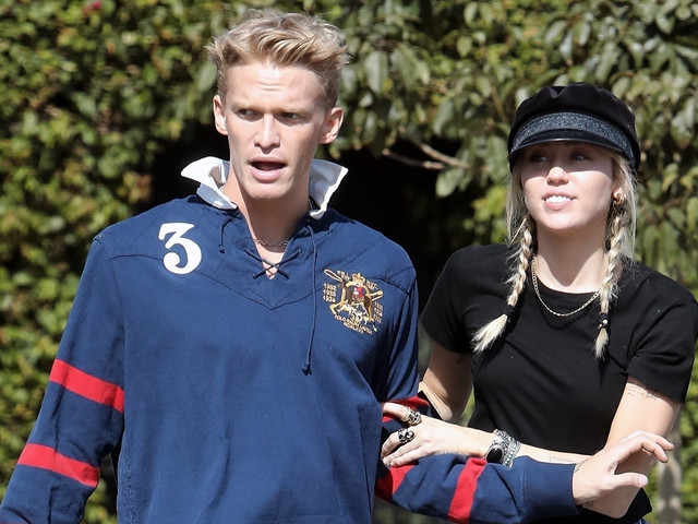 Miley Cyrus & Cody Simpson Step Out for Museum & Sushi Date