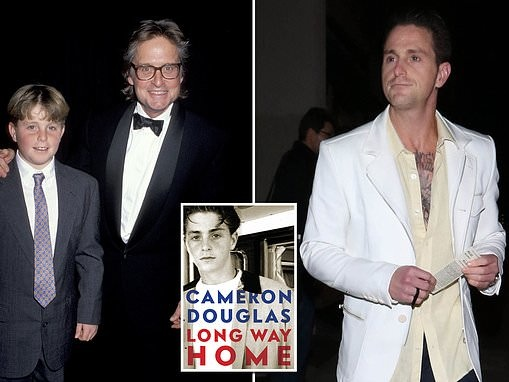 Michael Douglas' son Cameron claims his father made him hand out joints to celebs at family parties