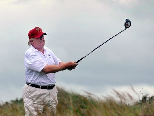 Inside Trump's hot vax New Jersey summer, where he's playing golf and plotting rallies while legal storms form