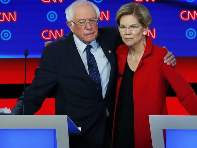 Bernie Sanders draws distinction with Elizabeth Warren on capitalism