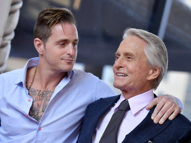 Michael Douglas had son Cameron hand out joints at celeb parties, memoir says