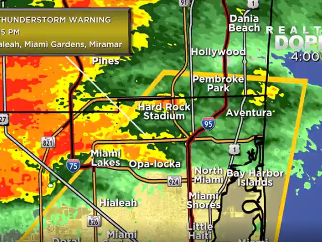 Street Flooding, Power Outages Reported Following Heavy Rain Moving Through South Florida