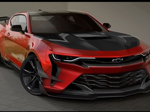 Is this the fire-breathing Camaro Z/28 that Chevrolet reportedly canned?