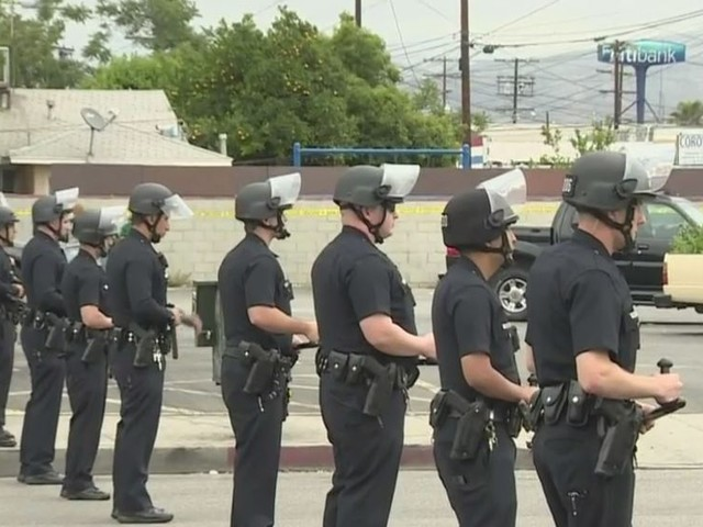 Several Arrested In Pacoima After Celebration For Mexico Win Turns Rowdy