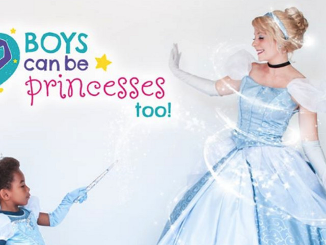 'Boys Can Be Princesses, Too' photographer takes photos of boys dressed up as princesses to normalize crossdressing