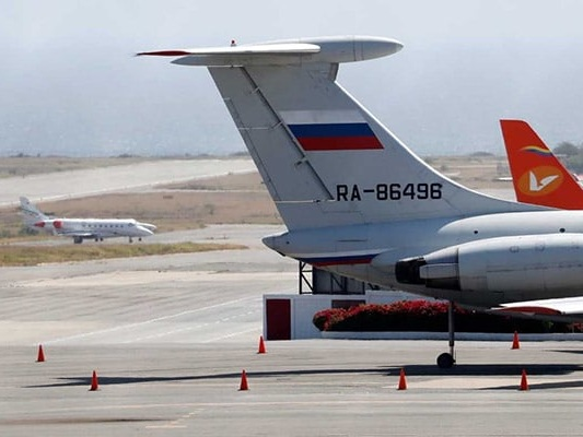 Russian Air Force Planes Land In Venezuela Carrying Troops: Reports