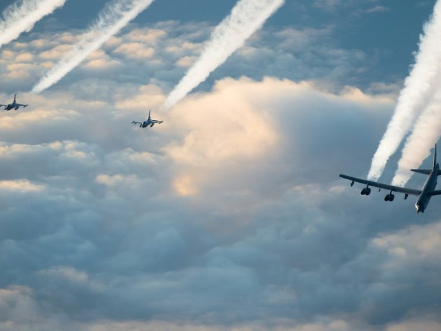 4 US B-52 bombers just got back from a month flying all around Europe — here's what they were up to