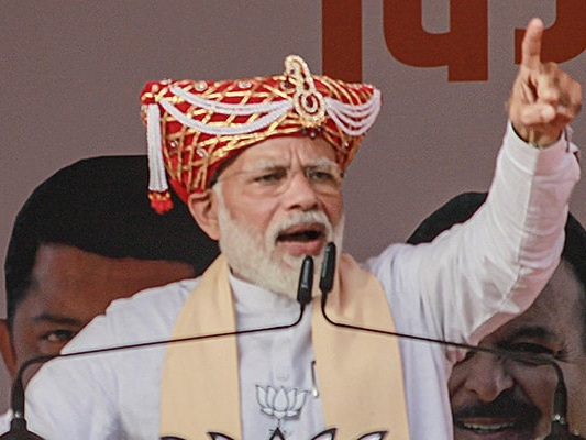 Action Against Corrupt People Will Continue: PM Modi