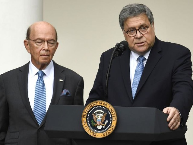 House votes to hold Barr, Ross in criminal contempt