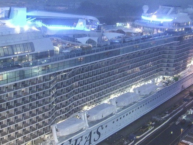 Odyssey of the Seas construction photo update - January 11, 2021