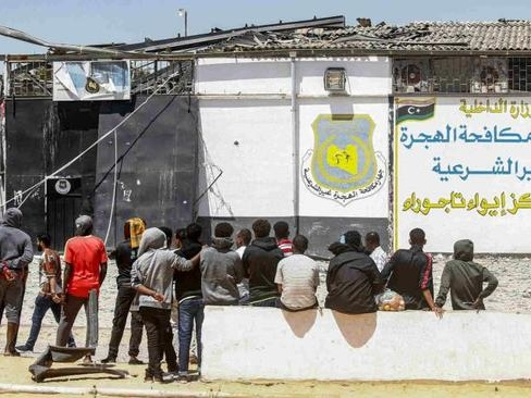 """Libya To Release All Migrants From """"Detention Camps"""" After Tripoli Attack"""