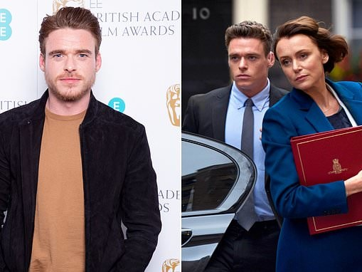 Richard Madden, 32, reveals he's in talks for second Bodyguard series