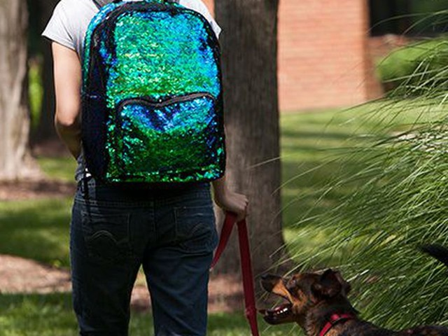 Stay under the sea at all times with a mermaid backpack