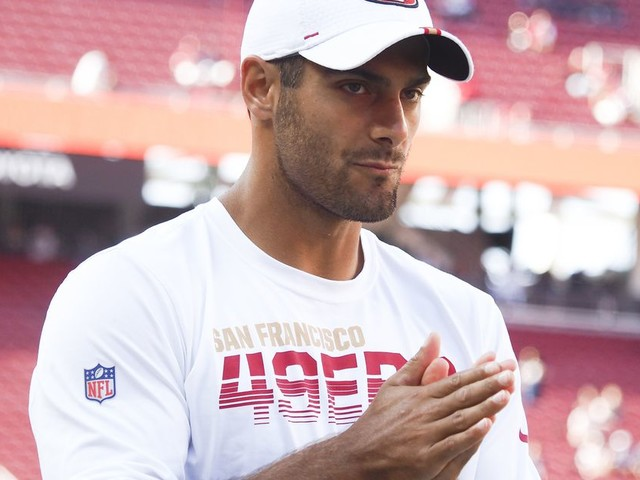 How are we all feeling about Jimmy Garoppolo now?