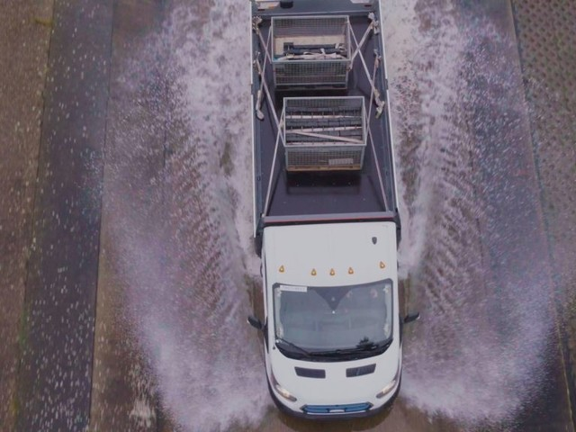 Rough Day at Work? All-Electric Ford E-Transit 'Torture Tests' Simulate a Lifetime of Hard Use | Ford of Europe | Ford Media Center