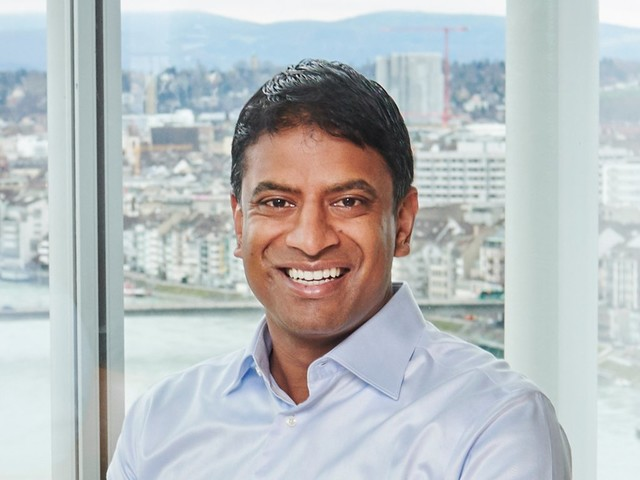 Swiss drug giant Novartis has done $60 billion in deals over the past 18 months. One sentence from its CEO reveals the core strategy. (NVS)