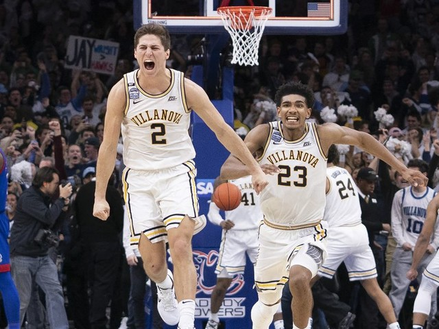 No. 1 goes down once again in college hoops