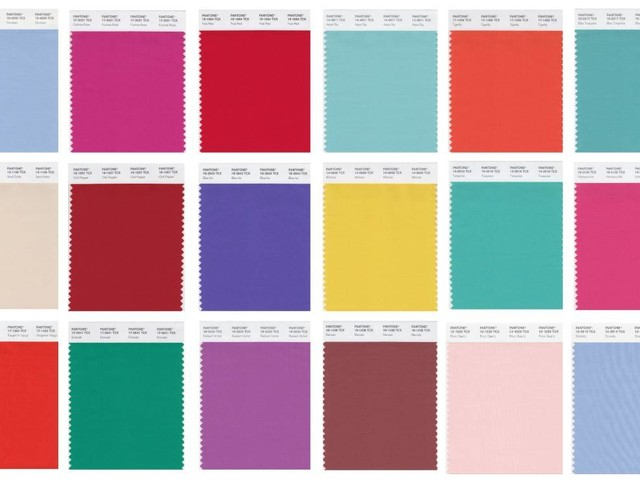 Explore every Pantone Colour of the Year since 2000