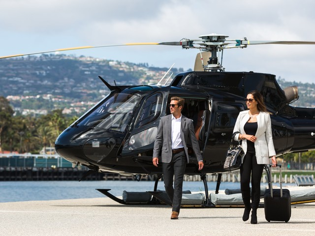 Uber and Blade have a new helicopter competitor in the United States — and it's backed by one of the world's largest aerospace companies