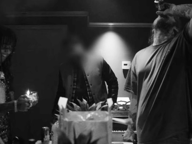 """Post Malone and Swae Lee Share New Black-and-White """"Sunflower"""" Video Featuring Studio Footage"""