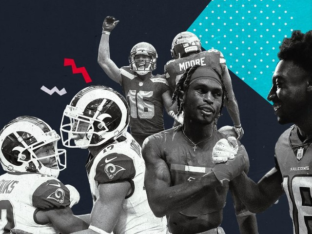 The NFL's current wide receiver corps power rankings, by team