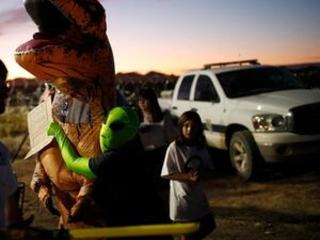 1 event near Area 51 pulls plug; second festival continues