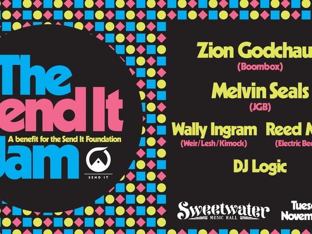 Send It Jam Fundraiser Features Zion Godchaux, Melvin Seals & More