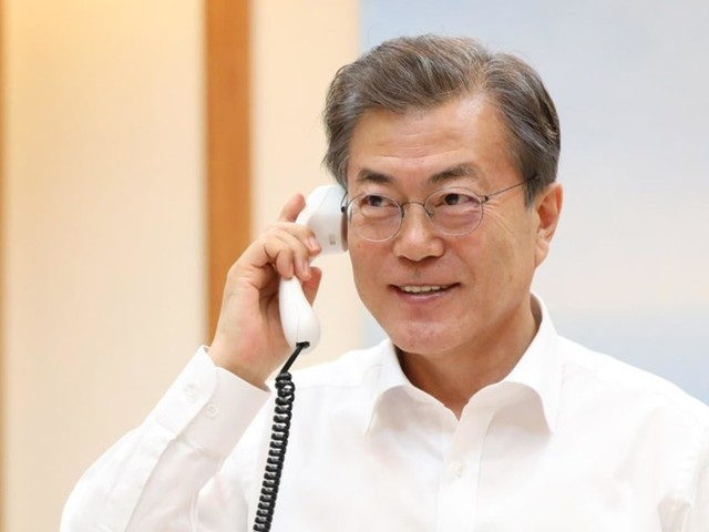 South Korean President Gives Trump Credit for New Talks With North. Smart Guy!
