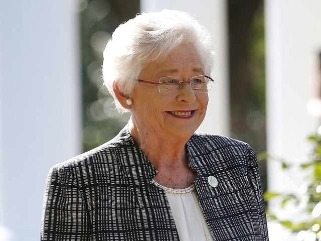 Kay Ivey, Alabama governor, signs abortion ban into law