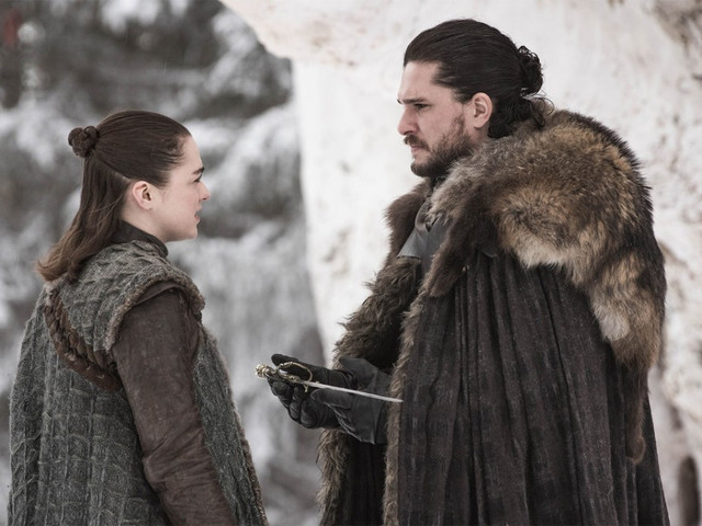 'Game of Thrones' does a lot more telling than showing in its season 8 premiere