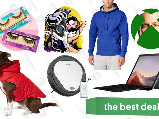 Friday's Best Deals: Xbox Games and Gift Cards, Surface Pro 7, Champion Hoodies, Ulta Lash Products, Sony a7 III Camera, Trifo Robot Vacuum, Oculus Quest, and More