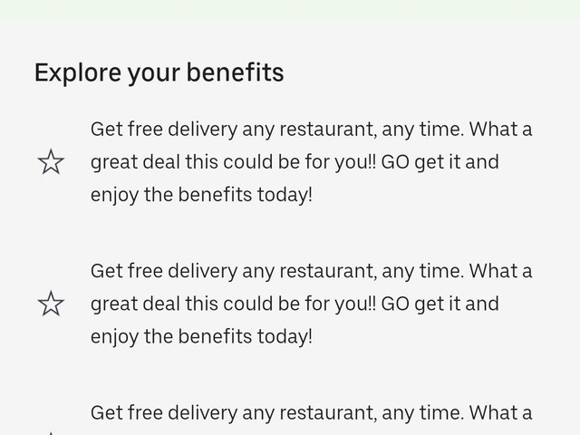 Uber Eats May Offer Unlimited Delivery Pass For $9.99