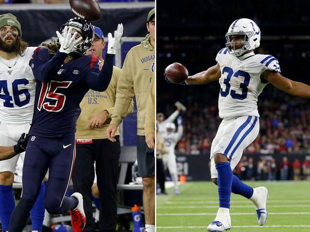 Colts-Texans fantasy football takeaways: Will Fuller, Jonathan Williams