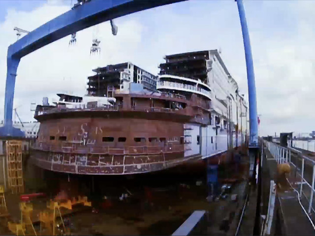 Video: Constructing the World's Largest Ship: Symphony of the Seas Brings New Adventures