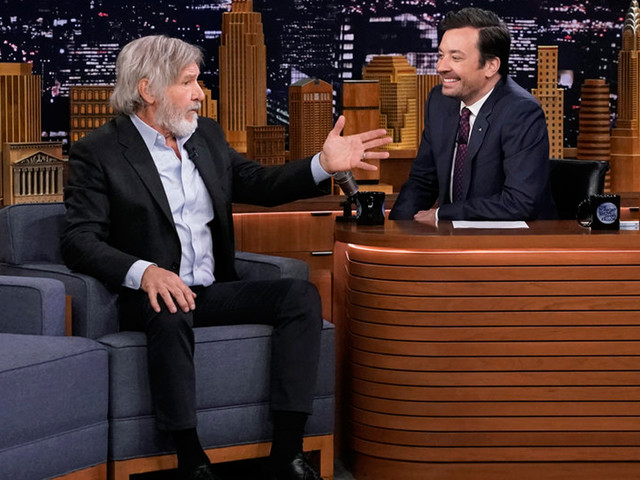 Harrison Ford Remembers Peter Mayhew on 'Tonight Show': 'He Was A Really Sweet Man'
