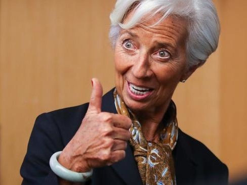 Watch ECB's Christine Lagarde Explain How Greenwashing Central Bank Policy Will Save Europe
