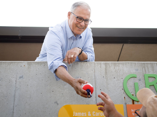 'It's Gratifying': Jay Inslee Finally Gets His Moment