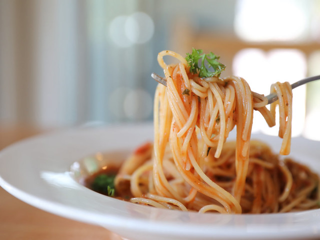 Here's what the portion size of pasta actually looks like