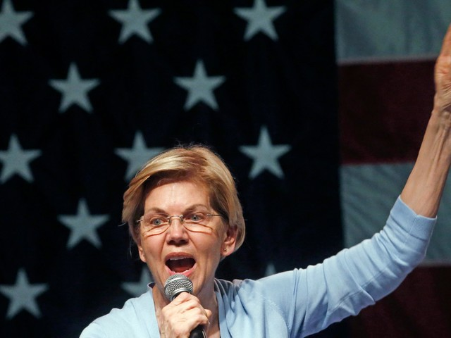 Elizabeth Warren says 'there's no political-convenience exception to the US constitution' when it comes to impeaching Trump
