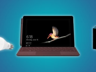Daily Deals: A $310 Surface Go, a $10 Philips Hue Bulb, a $60 Fire TV Cube 4K, and More