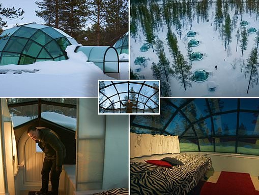 Amazing Spaces viewers brand glass igloos in Finland a 'dream'