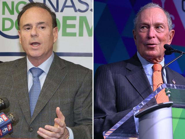 NY state Democratic boss rips Michael Bloomberg's 2020 run